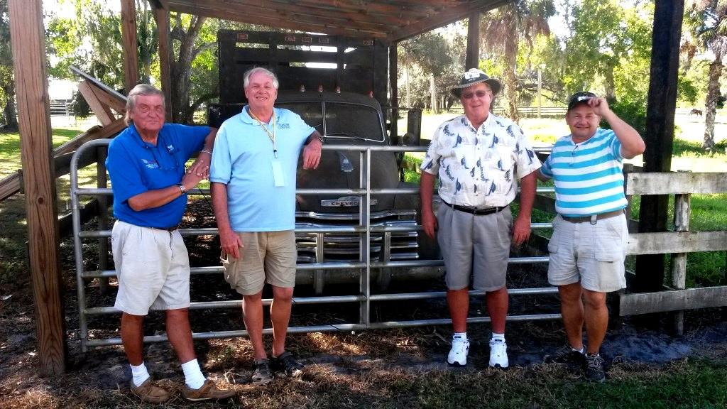 Rolf KE1Y, Craig W4PHJ, Bob K3ET, and Bill N4BKT