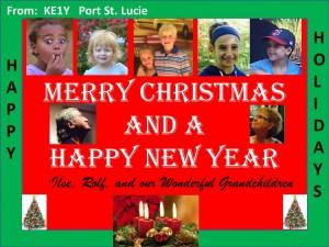 Merry Christmas from Rolf KE1Y